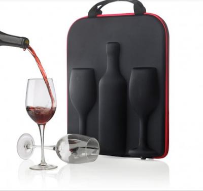 valigetta vino calici