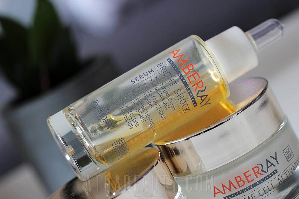 FARMONA, Amberray Bright Shock Serum – Multifunkcyjne serum rozjaśniające na dzień/noc