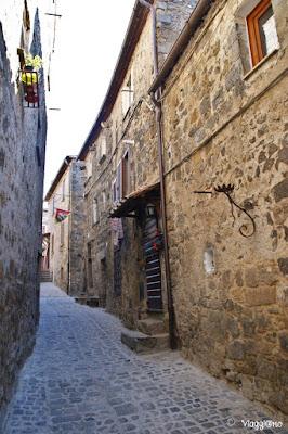 Stradina medievale di Bolsena