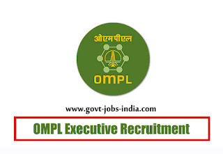 OMPL Executive Recruitment 2019