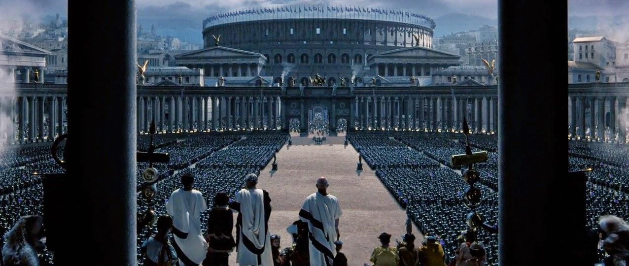 Essay on gladiator film