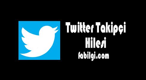 Twitter Günlük Takipçi Hilesi Sitesi Haziran 2020 - Yeni