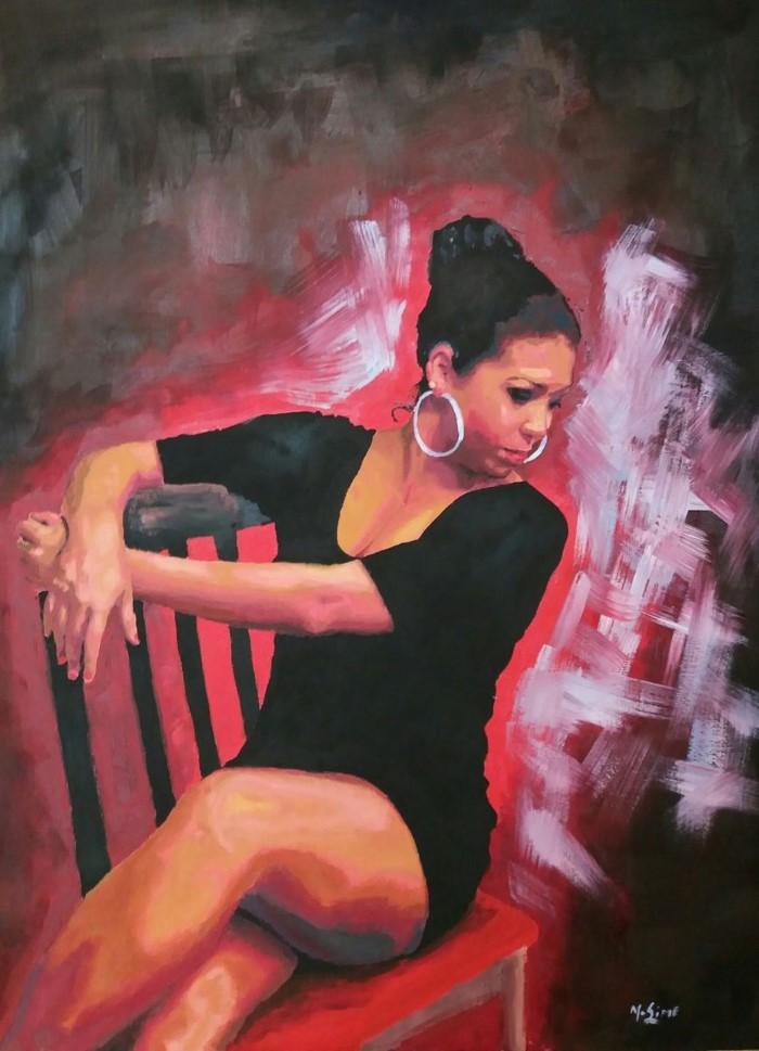 Шотландский художник. Marjory Sime