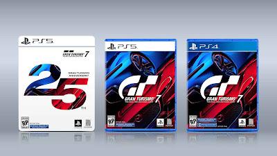 Pre order  Grand Turismo 7 Serta Edisi 25 tahunnya telah dibuka