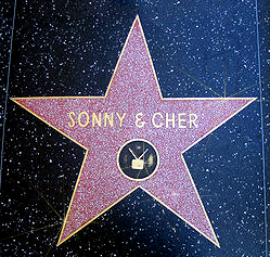 Sonny & Cher's Hollywood Walk of Fame star
