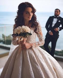 اجمل موديلات فساتين الفرح للعروسة موديل 2021 (2)