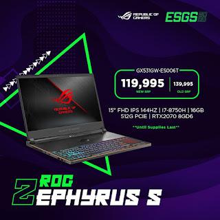 ROG Zephyrus S GX531GW-ES006T