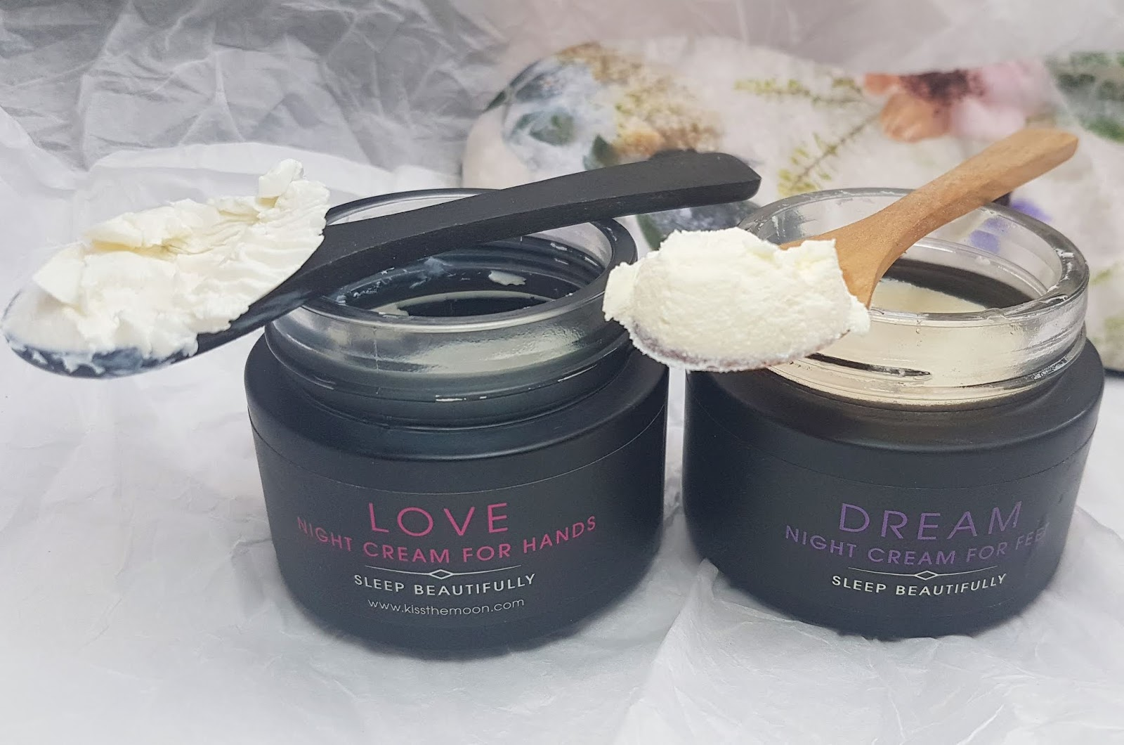 Kiss the Moon Night Cream for hands and feet Review
