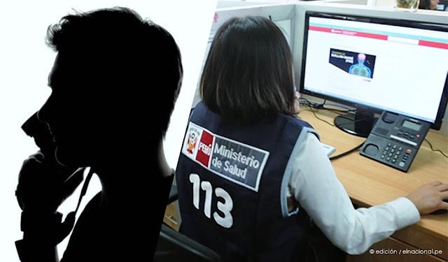 Llamadas falsas al 113 de coronavirus en Perú