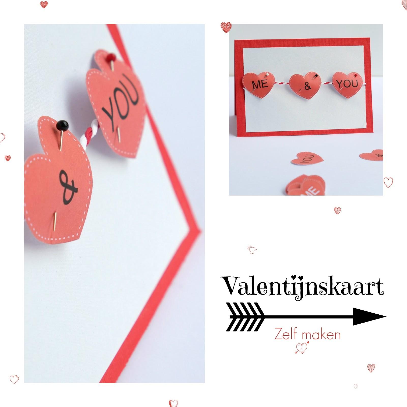 hoe schrijf je een valentijnskaart