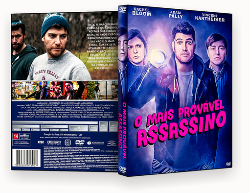 CAPA DVD – O Mais Provável Assassino DVD-R