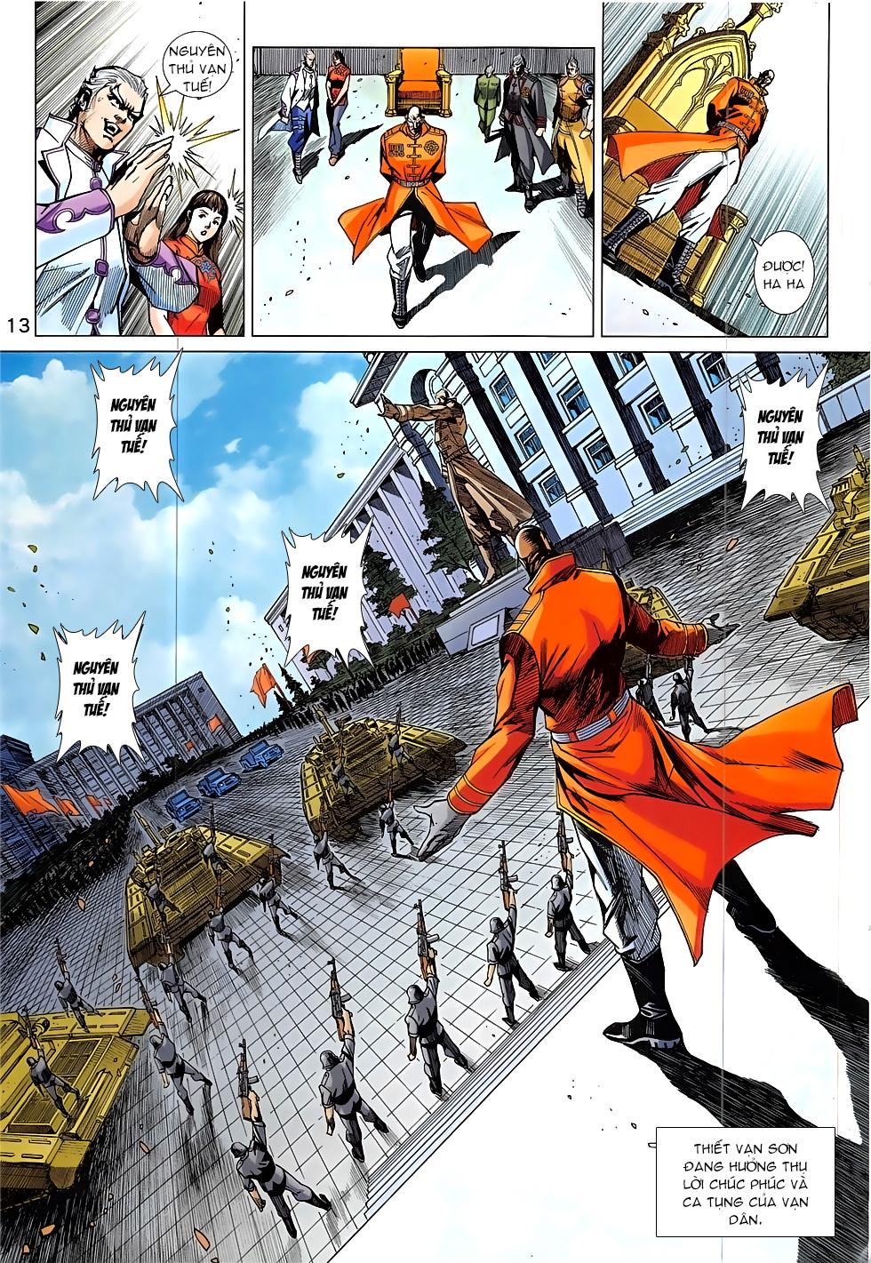 Tân Tác Long Hổ Môn Chap 837 page 13 - Truyentranhaz.net