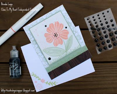 card created for Floral Celebration Blog Hop