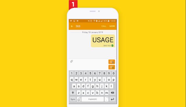 Cek Kuota Internet Indosat via SMS