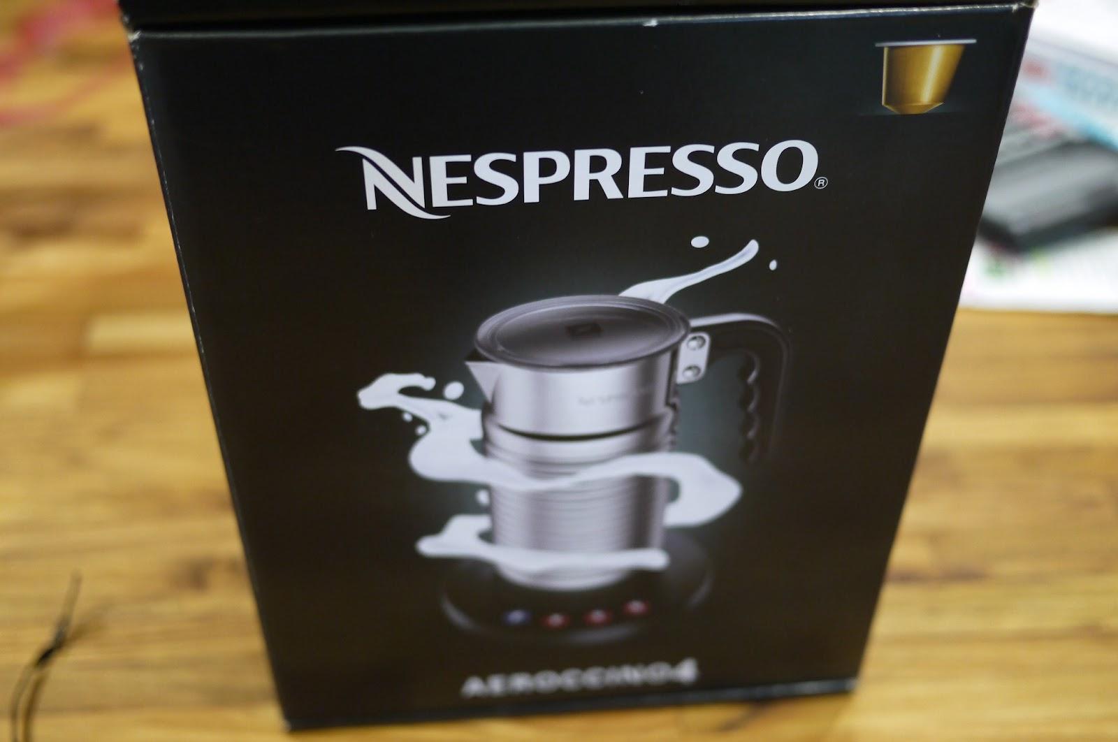 Rita's life and the city: [買物]Nespresso Aeroccino4 全自動奶泡機-熱牛奶好方便