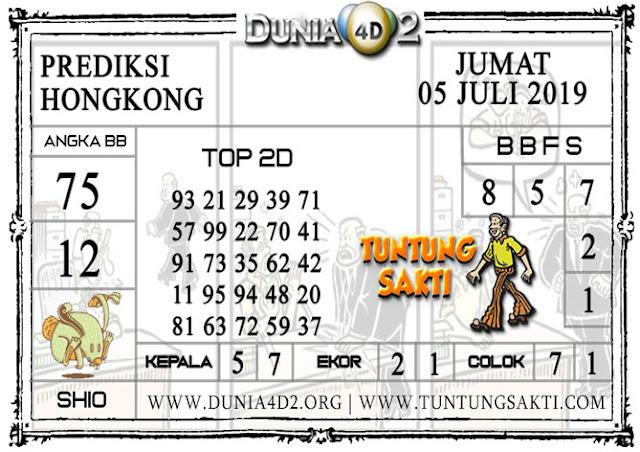 """Prediksi Togel """"HONGKONG"""" DUNIA4D2 05 JULI 2019"""