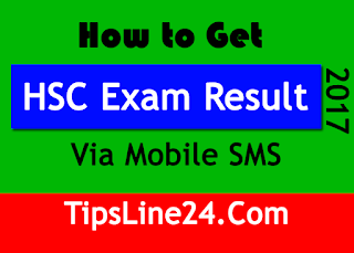How to Get HSC Exam Result 2017 Via Mobile SMS