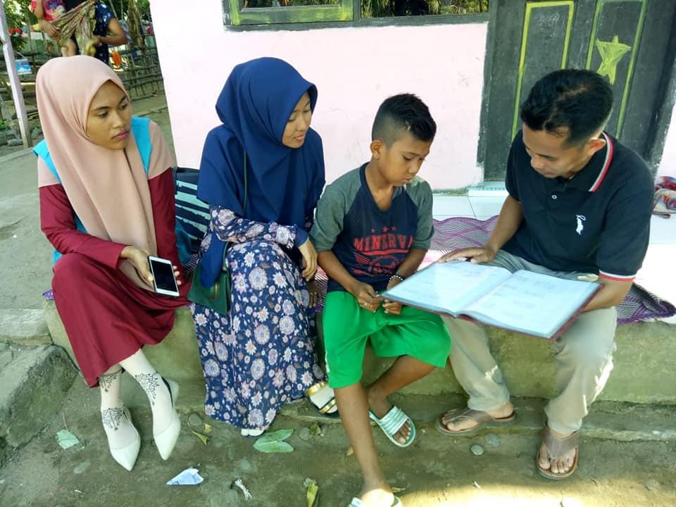 LPD lakukan Monitoring & Pembinaan terhadap anak-anak Asuh Penerima Beasiswa Syafaat
