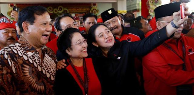 Gerindra: Poros Jokowi-Mega-Prabowo akan Terbentuk secara Alamiah