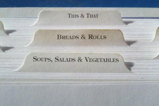 minimalisme en cuisine, menu pertpétuel