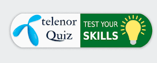 My Telenor App Test Your Skills Today Answers   Telenor Quiz answer Today