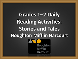 Grades 1–2 Daily Reading Activities: Stories and Tales | Houghton Mifflin Harcourt