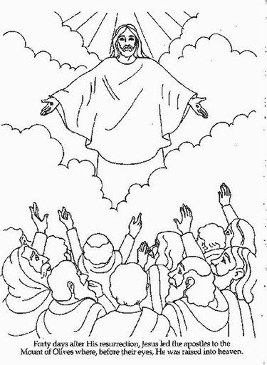 Sekolah Minggu Ceria: Kenaikan Tuhan Yesus