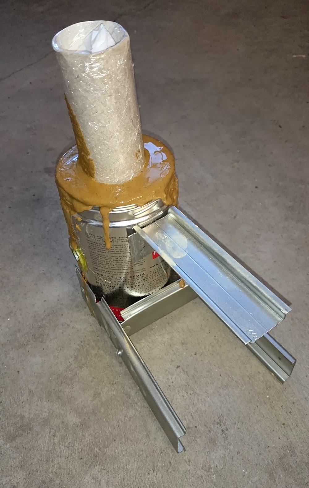 costruzione artigianale miniforgia a gas forgia