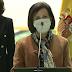 """""""La dignidad hecha ministra"""", emotivo discurso de Margarita Robles en la morgue del Palacio de Hielo"""