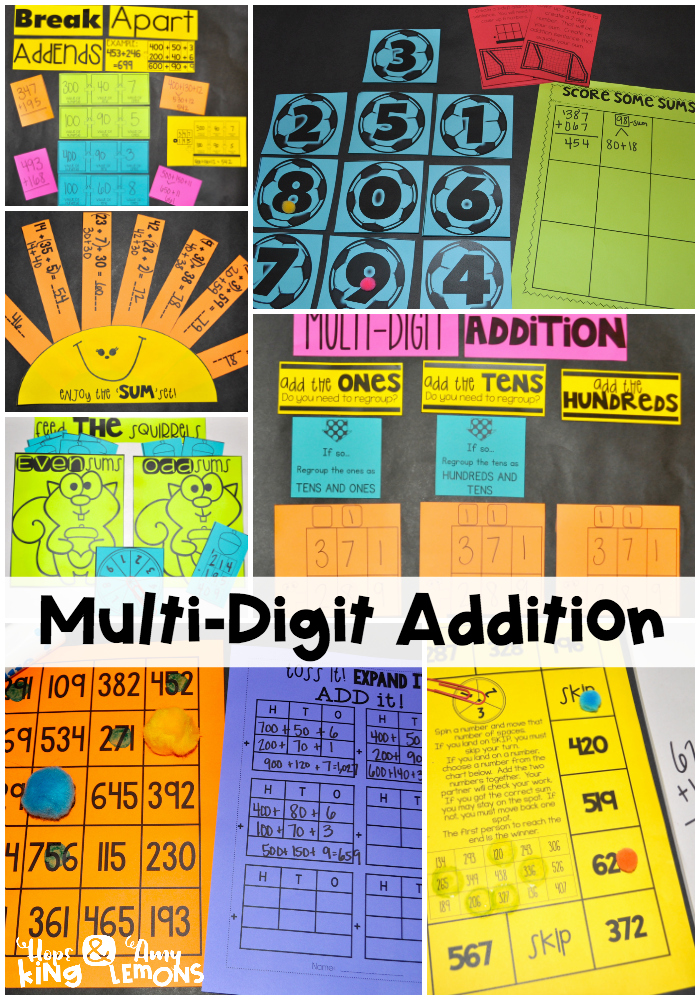 Here'-s a poem on addition with regrouping. | Addition/Subtraction ...