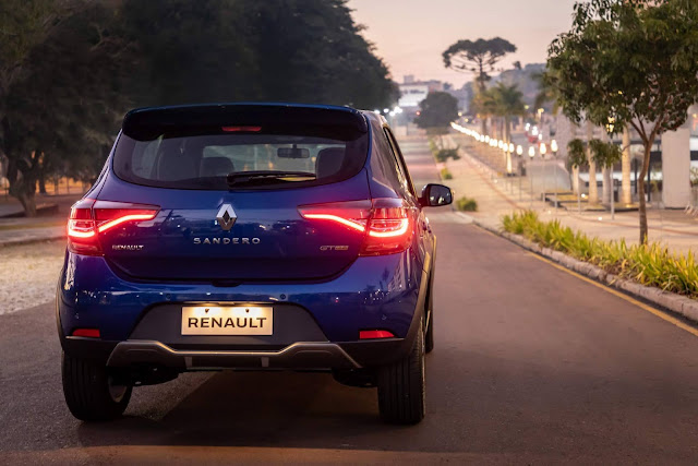Novo Renault Sandero GT Line 2021 - preços e detalhes