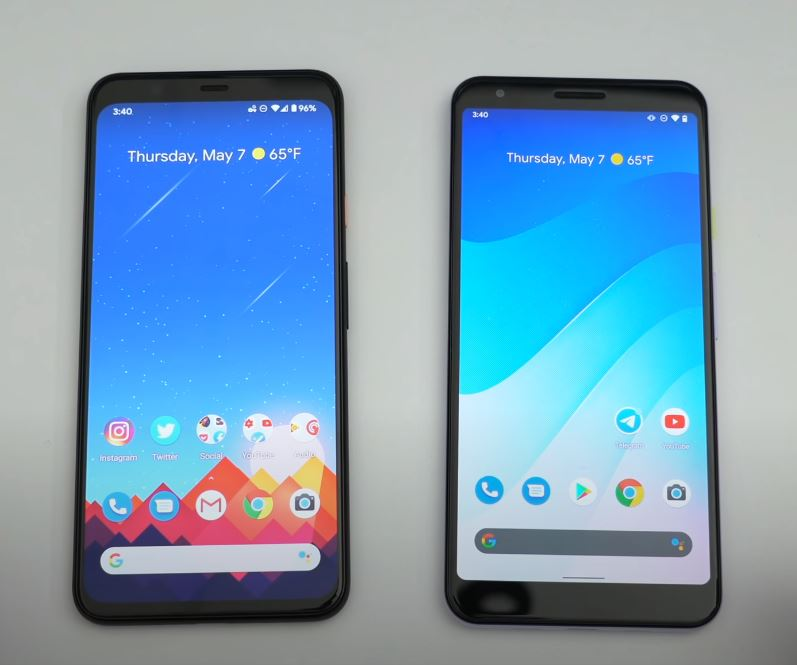 picture showing smartphones that are likely to get the new Android 11.