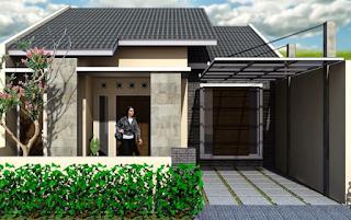 Kanopi Rumah Minimalis Type 36