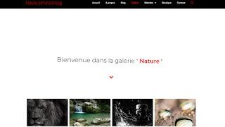 Galerie photo en ligne