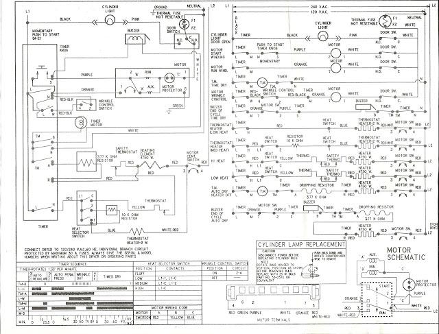 Kenmore Dryer Wiring Diagrams - Wwwcaseistore \u2022