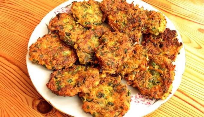 Zucchini Patty - Vegan