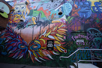 Gungahlin Street art   Grease Monkey Mural