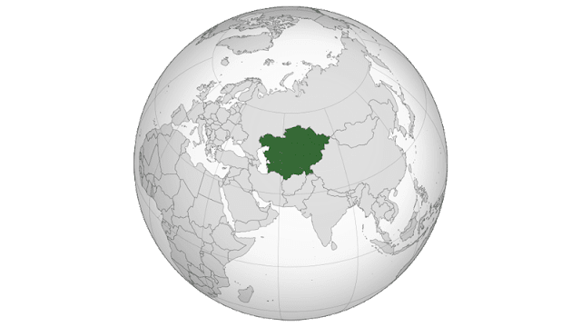 Peta Asia Tengah