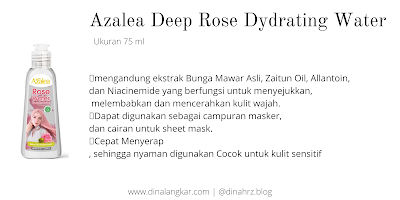 manfaat azalea rose water
