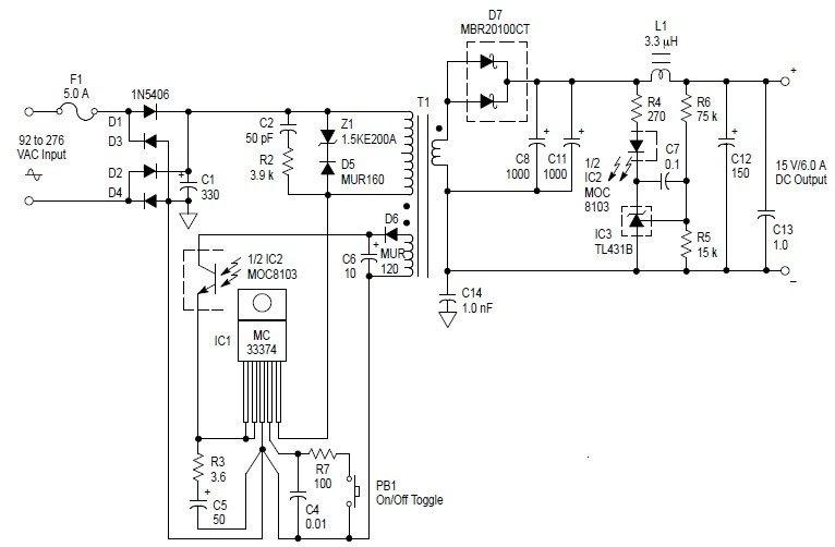 ac adaptor wiring