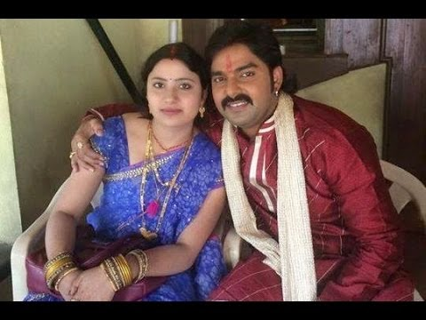 Pawan Singh With Wife Neelam Singh photo