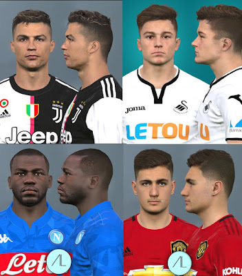 PES 2017 Facepack May 2019 by Alief