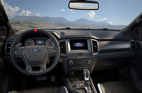 Ford Ranger Raptor Interior