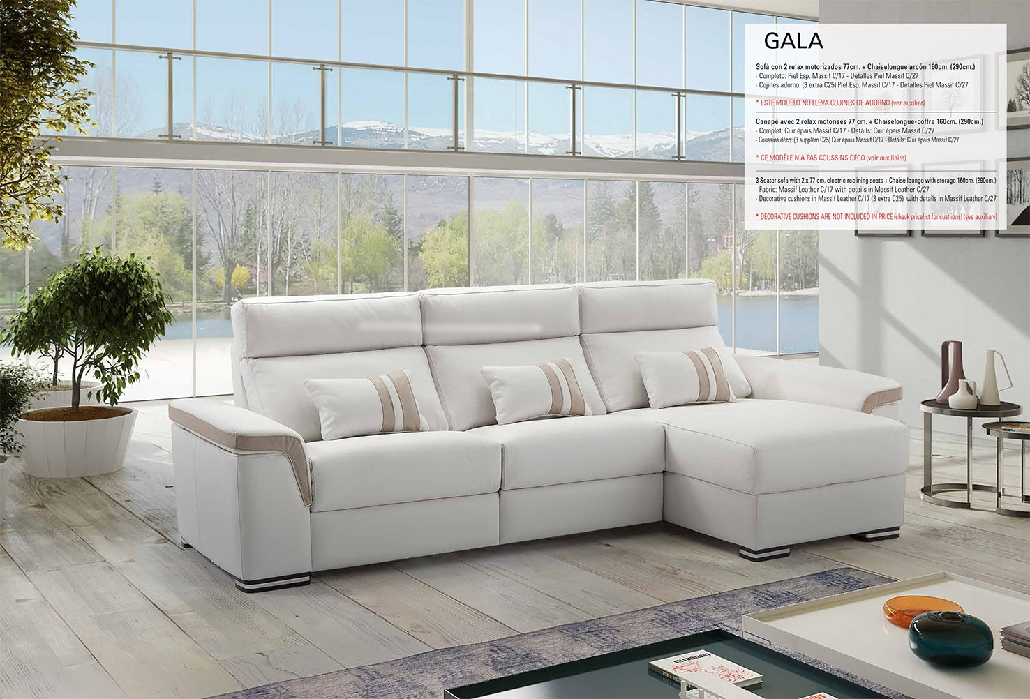 sofas relax motor electrico decolevel sofas muebles On sofas relax barcelona