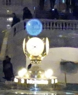 orb on Grand Central Clock