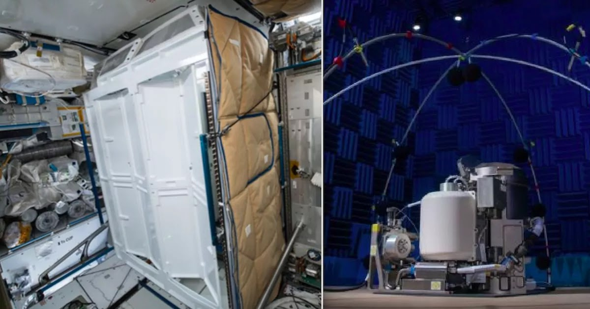 NASA Unveils $23 Million Toilet That Is Being Sent To The International Space Station