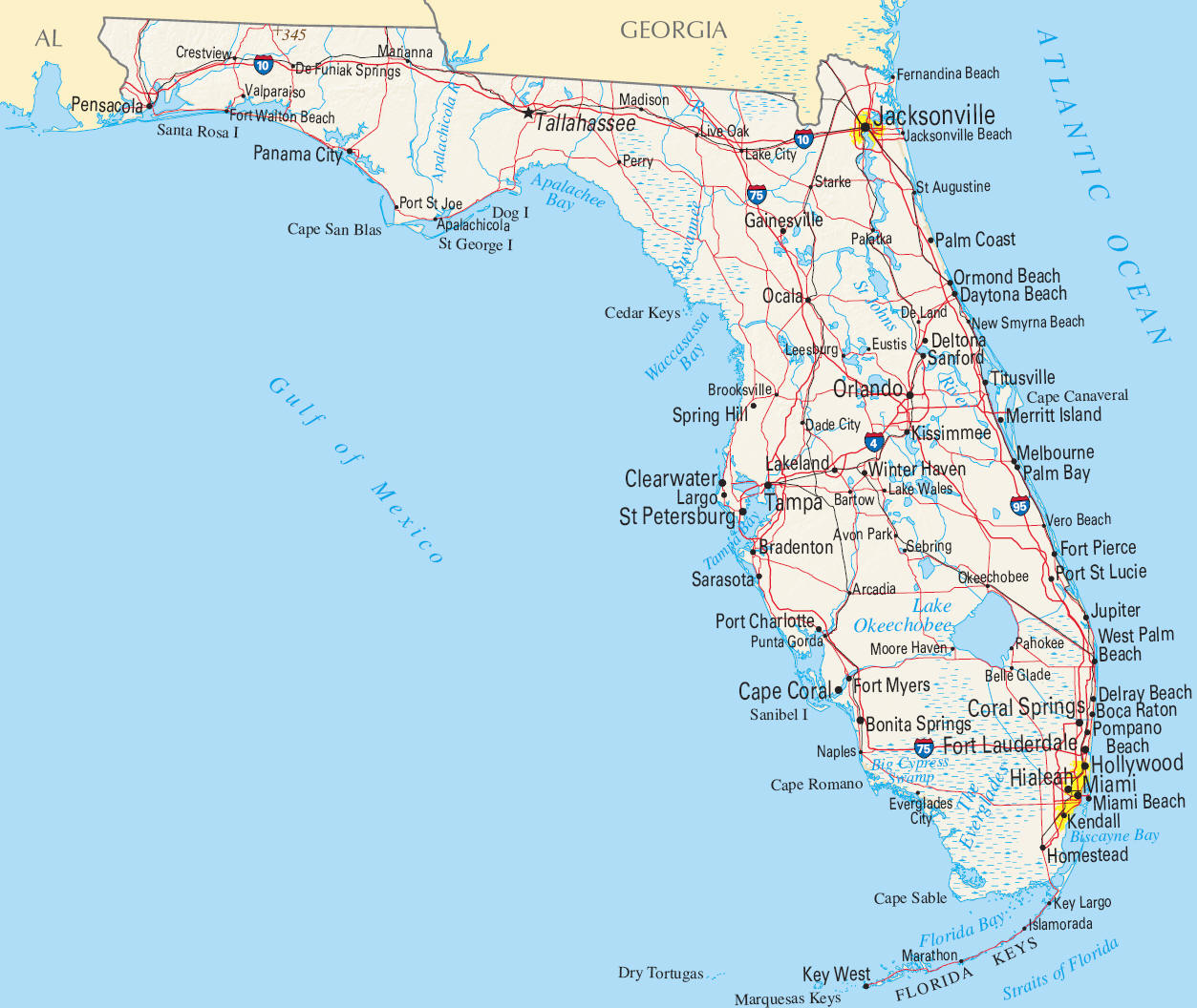 PZ C florida map