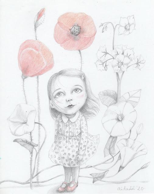 Aira Kaal kaks väikest habrast rukki mooni luuletus illustratsioon
