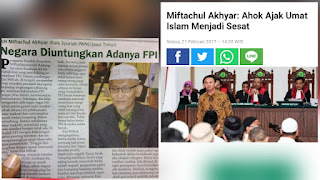 Ketua MUI yang Baru, Dukung FPl Berantas Kemunkaran hingga Sebut Ahok Sesatkan Umat