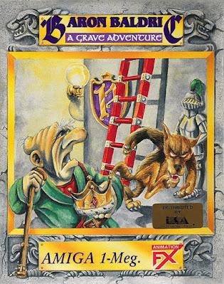 Portada videojuego Baron Baldric - A Grave Adventure